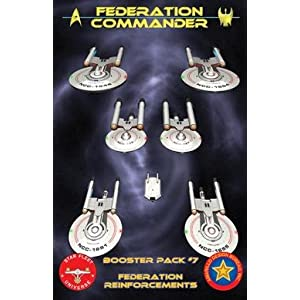 Click to buy Federation Commander: Booster Pack 7 from Amazon!