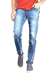 Bandit Blue Denim Slim Fit Basics Jeans For Men