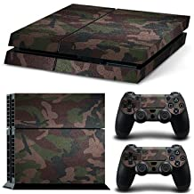Skin Stickers For Playstation 4 PS4 Console And 2 Controllers Decal Cover Decor -