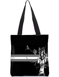 Snoogg Painted Girls Digitally Printed Utility Tote Bag Handbag Made Of Poly Canvas - B01C8MS01S