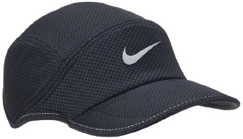 ナイキ(Nike) メッシュデイブレイクランニングキャップ (010)ブラック/ブラック 520787-010