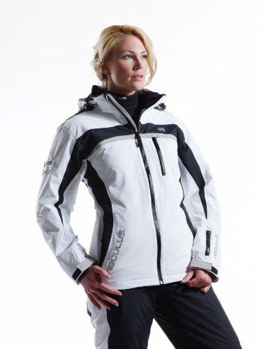 NEBULUS SKI JACKET ROCKET, women's, white, 10,000 mm, Size ...