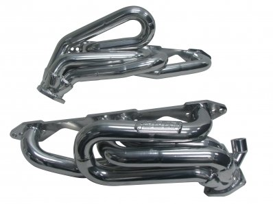 BBK 40070 1-5/8″ Shorty Tuned Length Performance Exhaust Headers for GM Truck And SUV 5.0L, 5.7L – Polished Silver Ceramic Finish