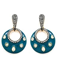 Akshim Multicolour Alloy Earrings For Women - B00NPY7FLK