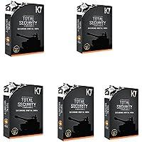 K7 Total Security 2016 5 PC 1 Year New Block Digital India Version Box Pack (5 Installation CDs,5 Serial Keys...