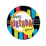 Happy Birthday Again Dessert Plates (8/pkg)