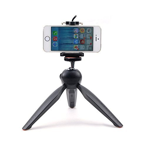 Datawind Devices Compatible Certified YunTeng YT-228 Mini 7 Inch Mobile Tripod With 360¡ Rotating Ball Head For Smartphones & Digital Camera