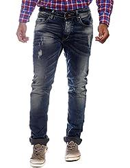 Spykar Distressed Slim Fit Men's Jeans