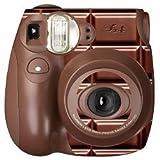 FUJIFILM インスタントカメラ チェキ INS MINI 7S チョコ チエキカメラ INS MINI 7S CH K