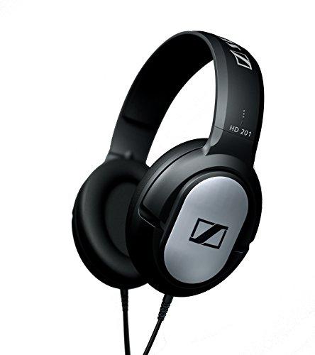 Sennheiser HD 201 - Auriculares de diadema cerrados, negro width=