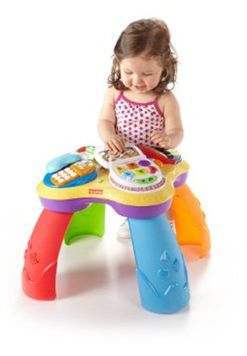 Fisher-Price Laugh & Learn Puppy And Friend Learning Table