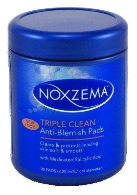 triple clean anti blemish pads