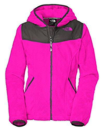 The North Face Girls' Oso Hoodie Luminous Pink Medium