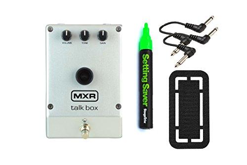 MXR Talk Box Pedal Bundle w/ 4 free Items: StageTrix
