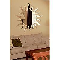 "11""x11"" Sun Mirror Sticker/Mirror Decal/Wall Sticker/Wall Art By RRudraksh"
