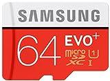 Samsung EVO+ - Tarjeta de memoria microSD de 64 GB