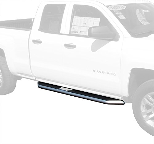 Premium Truck Running Boards For 07-15 Chevy Silverado/GMC Sierra 1500/2500/3500 Extended/Double Cab (Excluding Diesel models with DEF tanks)