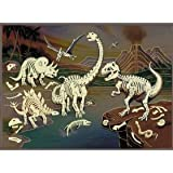 Age of Dinosaur Glow in the Dark 100 Piece Puzzle