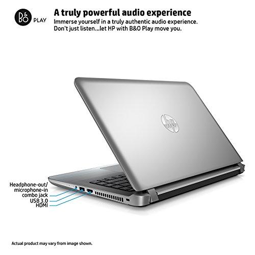 "2016 Newest HP Pavilion 14"" HD Laptop, Intel Core I3-5020U Processor, 6GB RAM, 1TB HDD, 8.5-hour Battery Life, DVD +/- RW, Webcam, Bluetooth, WiFi, HDMI, Windows 10, Silver"
