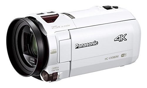 Panasonic デジタル4Kビデオカメラ VX980M 64GB あとから補正 ホワイト HC-VX980M-W