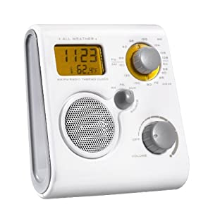 Akai AWP10WE wasserdicht Radio weiß: Amazon.de: Audio & HiFi