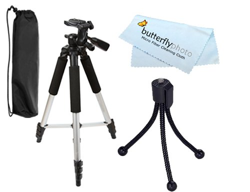 Digital Concepts TR60N 57 Inch Tripod Exclusive For OLYMPUS SP-500 SP-550 SP-570 C-5060 C-7070 E10 E20N C-5000...