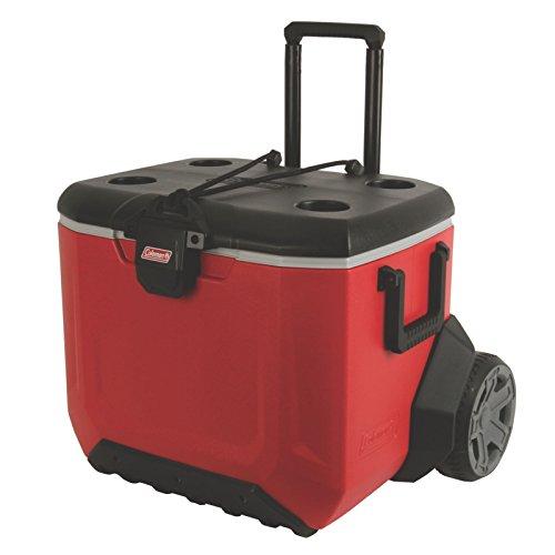 Coleman Rugged Wheeled Cooler (55 qt)