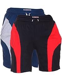 TeesTadka Men's Cotton Shorts For Men Value Pack Combo Offers For Men Pack Of 2