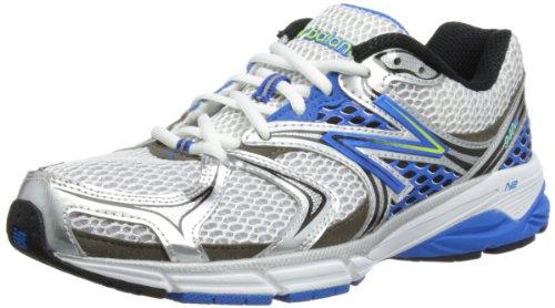 New Balance Men's M940V2 Running Shoe,White/Blue,10.5 D US