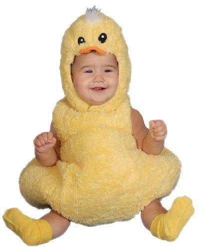Dress Up America Cute Little Baby Duck, Yellow, 6-12 Months