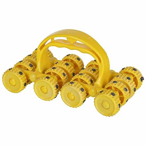 Aarogya Mandir Multiplex Star Magnet Massager (Yellow)