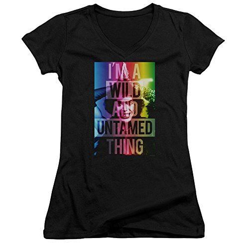 Rocky Horror Picture Show - Junior's V-Neck Shirt Wild & Untamed Thing