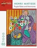 Henri Matosse: Purple Robe and Anemones, 1000 piece jigsaw puzzle