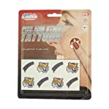 LSU Tigers Official NCAA 1 Inch X 1 Inch 8 Piece Temporary Tattoo Set By Rico Industries