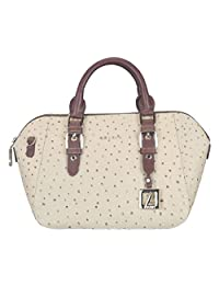 Adamis Beautiful Designed Handbag (Beige_B729)