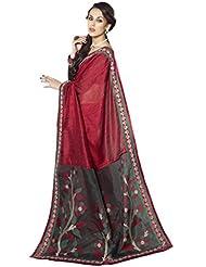 Triveni Trendy Pallu Worked Lace Bordered Saree 30020A