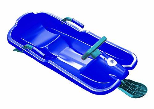 Plastkon Lenkschlitten Steerable sledges SKIBOB, blau, One Size, 41107631