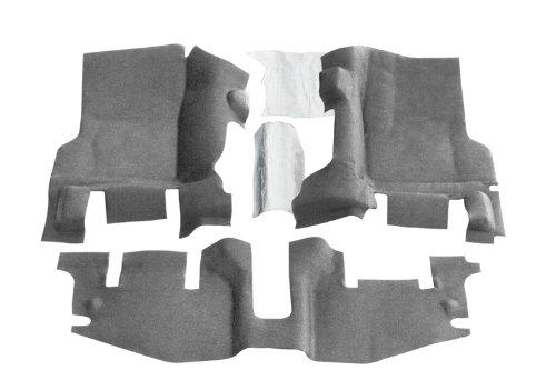 Bedrug BTTJ97F BedTred Front Cargo Liner Kit for Jeep Wrangler TJ