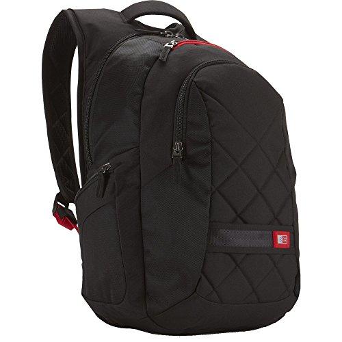 Case Logic DLBP116K Sac à dos fashion en nylon pour ordinateur portable 15,4