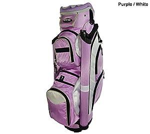 Amazon.com : Naples Bay Golf- 90774 Cart Bag Purple/White : Sports & Outdoors