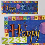 SALE Giant Happy Birthday Banner SALE