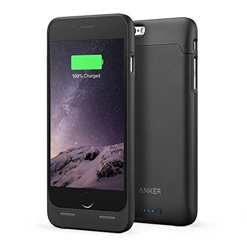 【Apple認証 (Made for iPhone取得)】 Anker ウルトラスリムバッテリーケース iPhone 6 4.7インチ用 容量 2850mAh 120% バッテリー容量を追加 A1405011