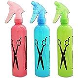Glive's Set Of 3pcs Hairdressing Water Spray Bottle For Salon Home Or Flower Planting Refillable Bottles
