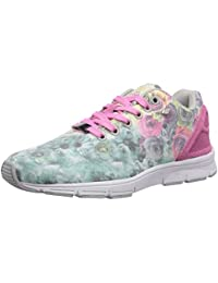 British Knights Women's Jump Pink Roses And Pink Canvas Sneakers