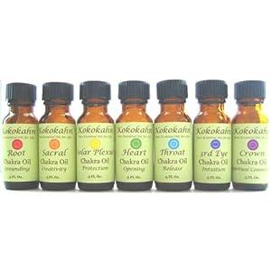 Amazon.com: Chakra Oil Aromatherapy Set with Pure