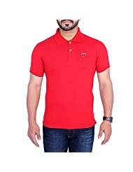 Duke Men Classy Polo Red Color T-shirts By Returnfavors