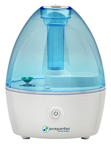 small humidifiers bedroom pureguardian 3 5l output per day ultrasonic cool mist 13326