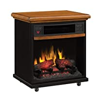 Duraflame Portable Infrared Quartz Fireplace - 1500 Watts, Model# 20IF100-O107