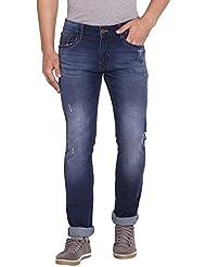 Allen Mens Cotton Jeans(Allen Blue1_Blue)
