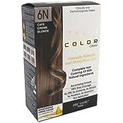Aequo Color 6N Cafe Cream Blonde Organic Hair Colour Kit - 160ml